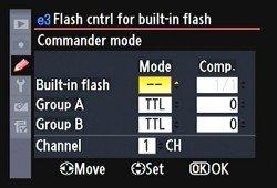 Flash commander mode
