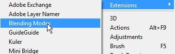 Adobe Blending Modes