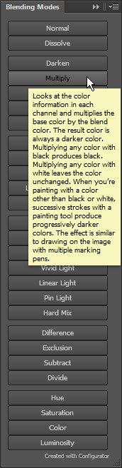 blending panel
