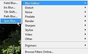 blur gallery