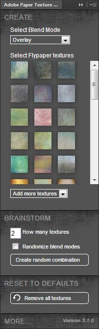 Russell Brown Texture Panel