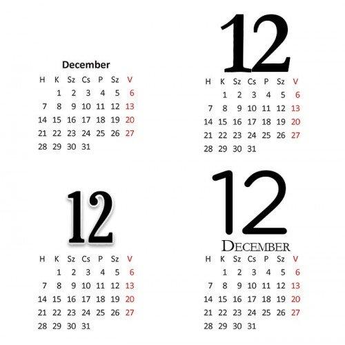 Cewe naptár