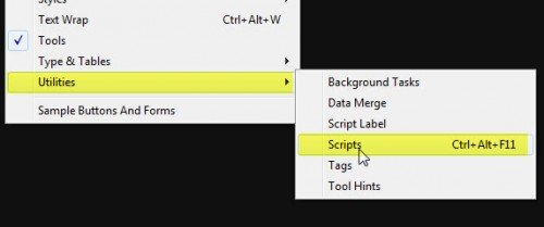 inDesign scripts