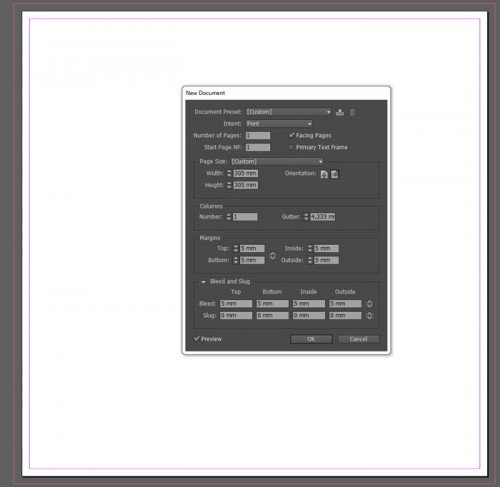 inDesign New