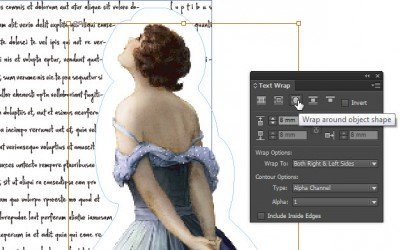 inDesign – text wrap