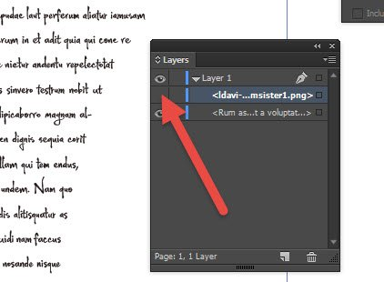 inDesign Export
