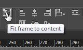 Fit frame to content