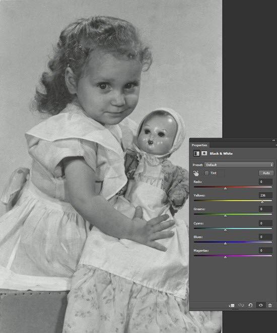 Régi fotók restaurálása