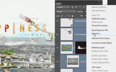 Photoshop CC 2015 – fájlok mentése