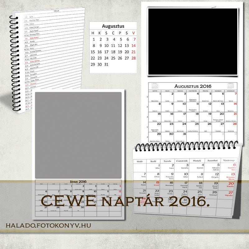 CEWE naptár 2016