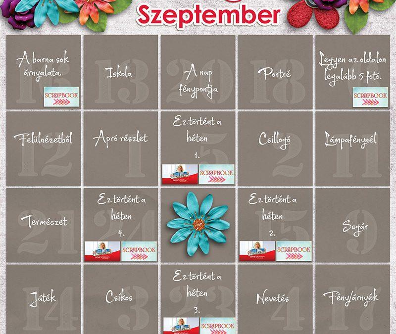 Bingó szeptember– eredményhirdetés