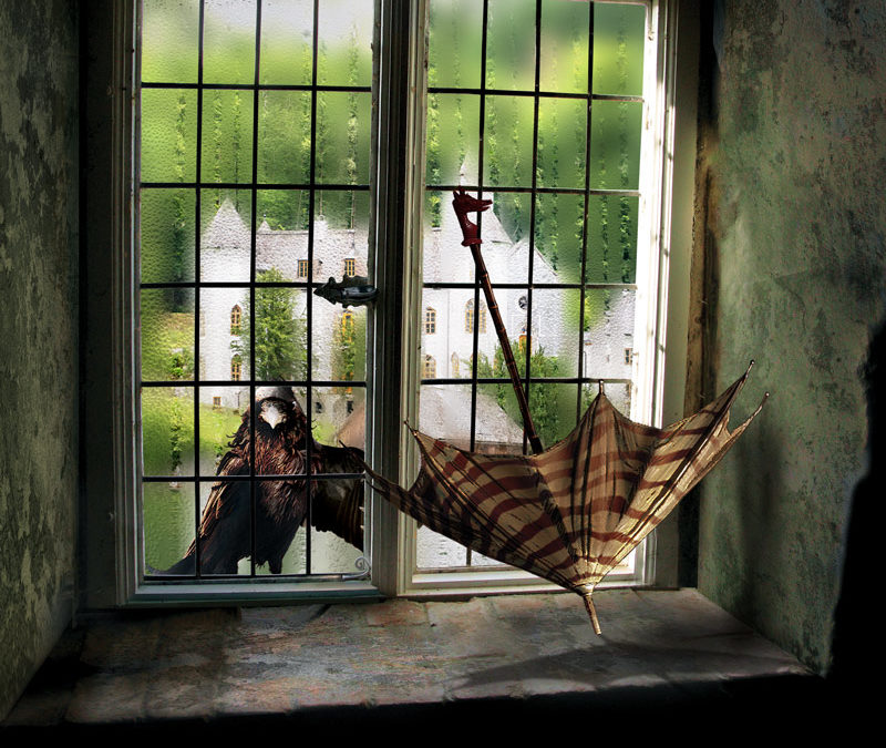 Esős ablak Photoshop-ban