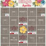 CEWE-Bingó április