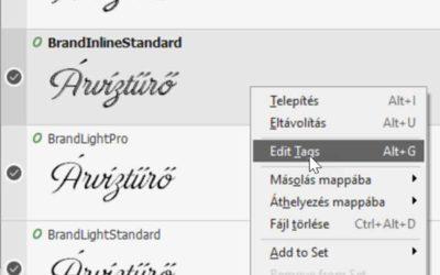 NexusFont – a font manager