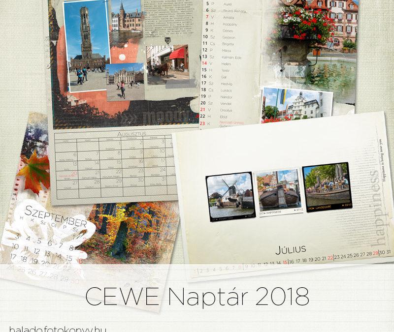 CEWE naptár 2018