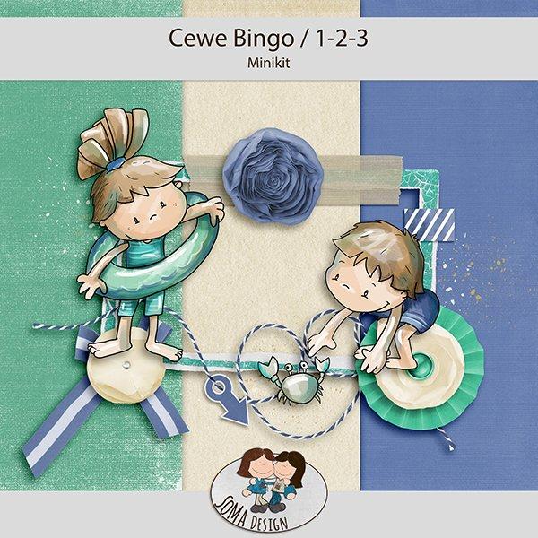 CEWE-Bingó július – 1-2-3