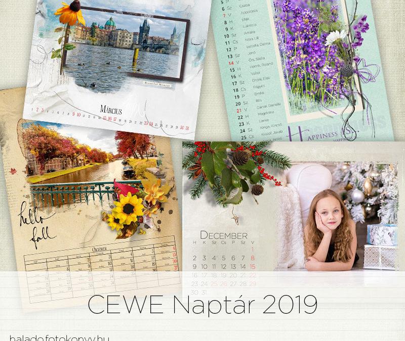 CEWE naptár 2019