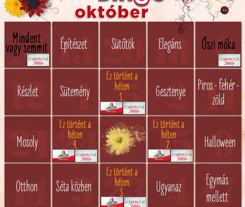 CEWE-Bingó – október