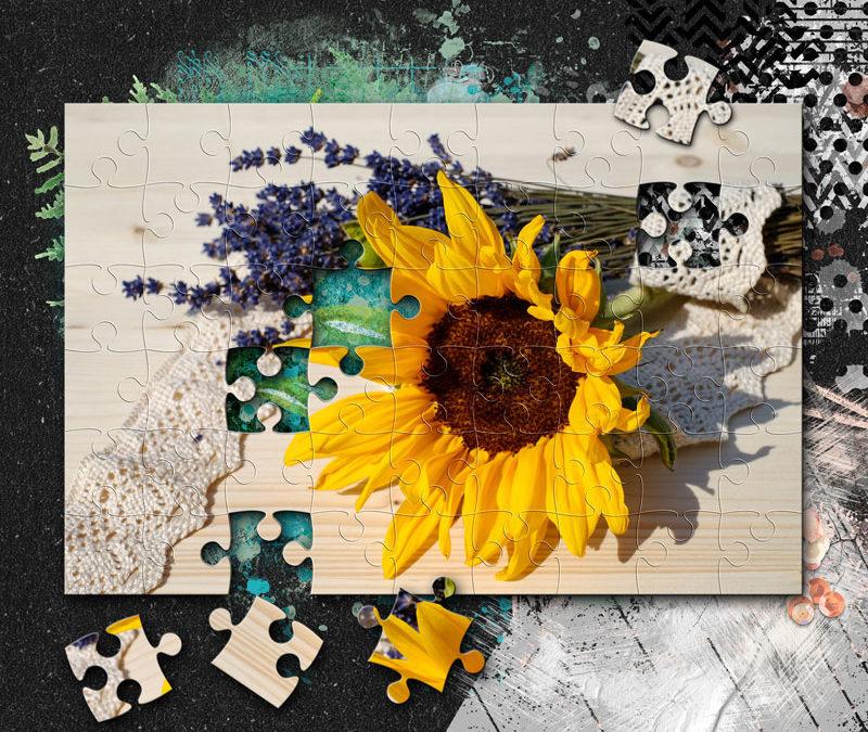 Puzzle készítése Photoshop-ban