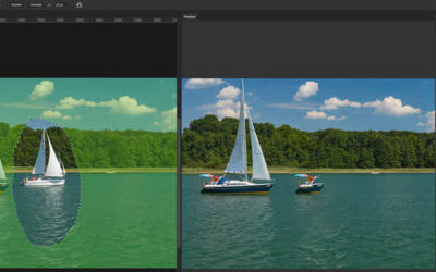 Photoshop CC 2019 – Content-Aware Fill