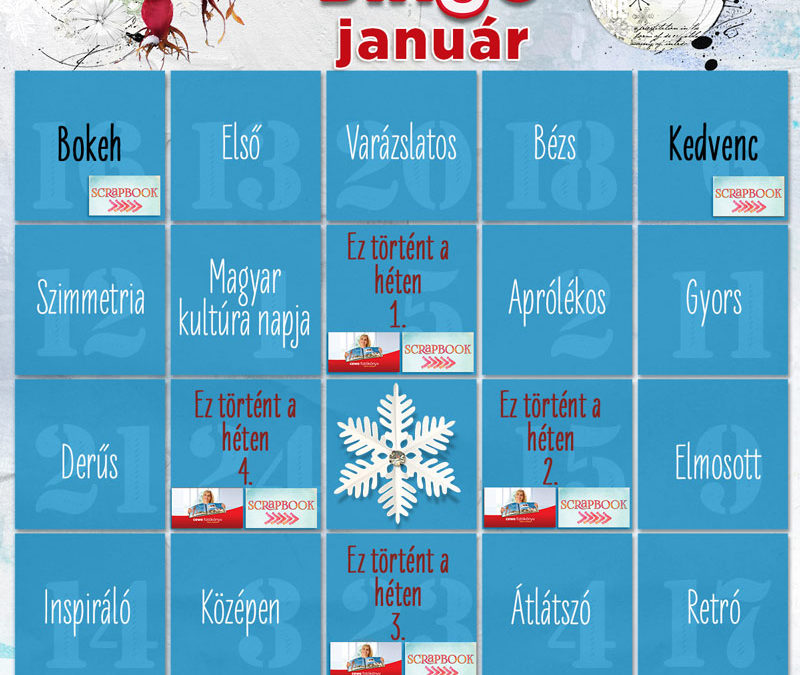 CEWE-Bingó – 2019. január