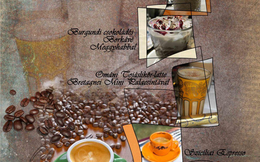 CEWE-Bingó 2019. február – kávé