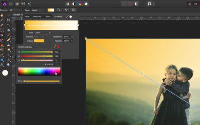 Affinity Photo – gradient