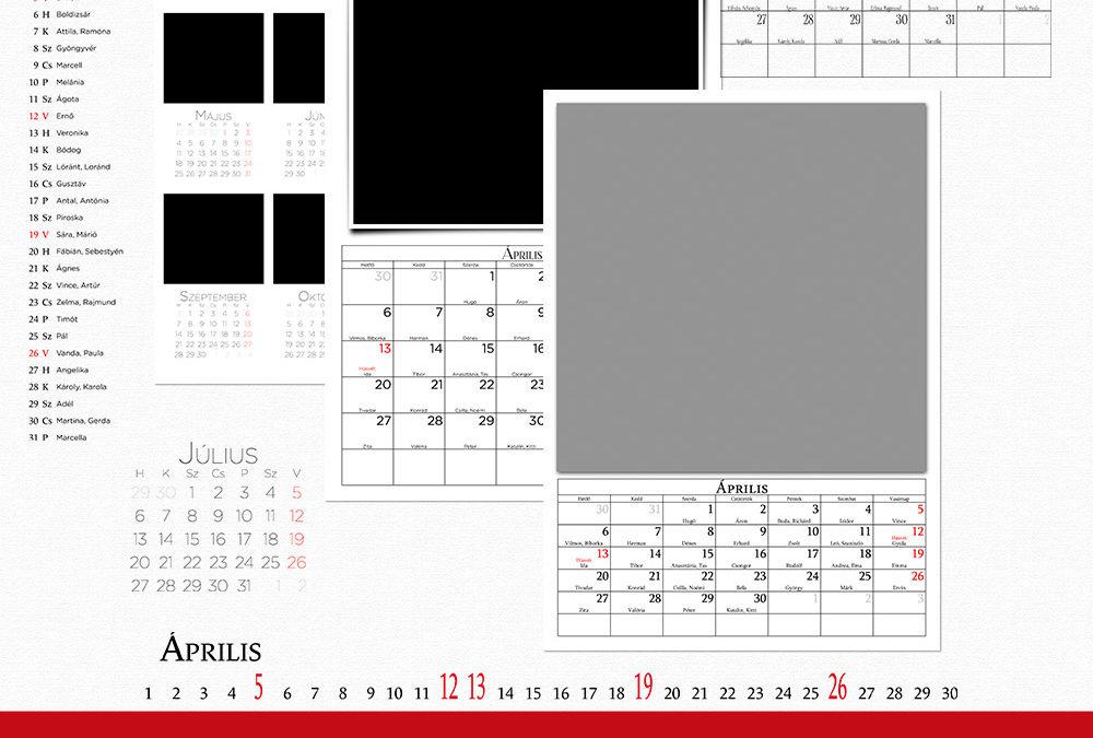 CEWE naptár 2020