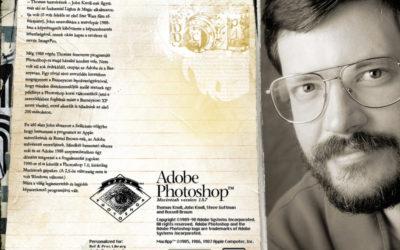 30 éves a Photoshop