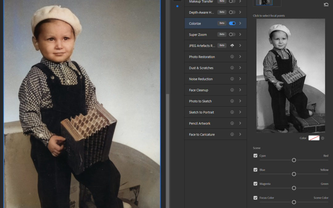 Photoshop 2021 – Neural Filters