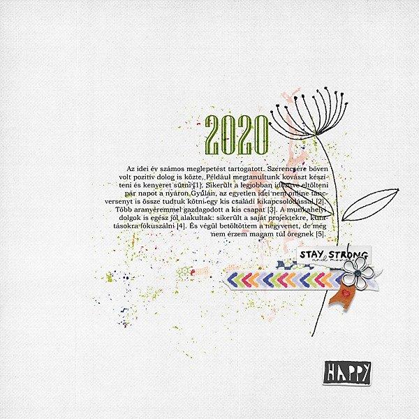 CEWE-Bingó – 2020. december – derűs