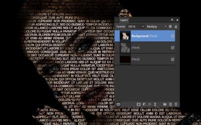 Affinity Photo – szövegportré
