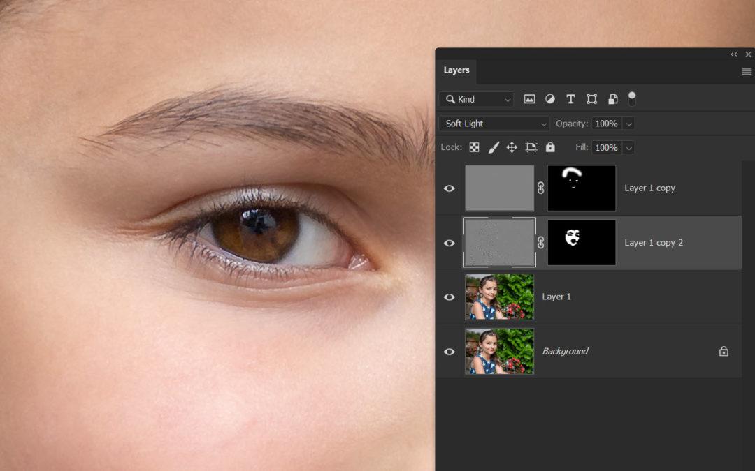 Photoshop – élesítés