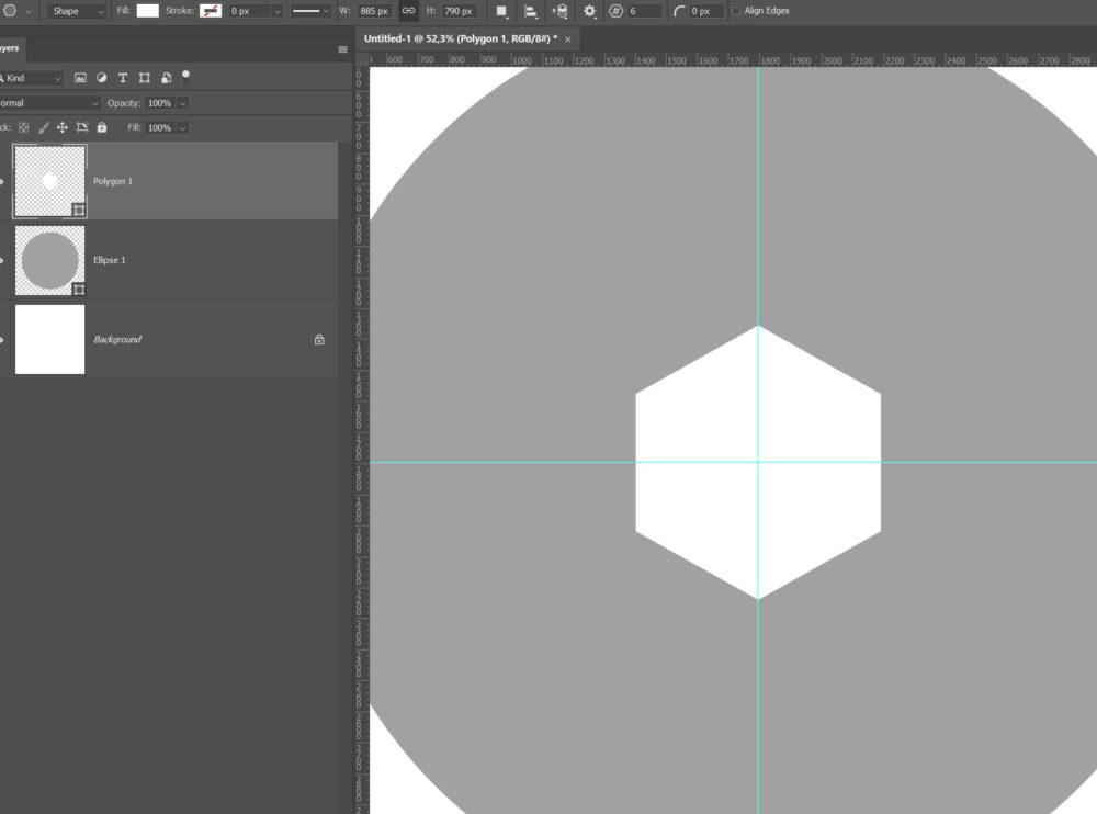 kör alakú shape
