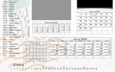 CEWE naptár 2022